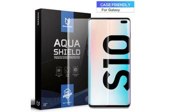 2x Galaxy S8 Plus Screen Protector, MaxShield Aqua Crystal for Samsung