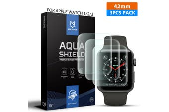 MaxShield Screen Protector for Apple Watch Series 5/4/3/2/1 42mm iWatch