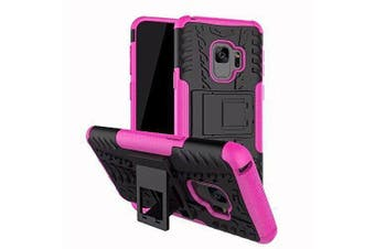 Shockproof Heavy Duty Rugged Case Cover For Samsung Galaxy S8-Pink