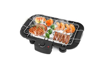 Electric Teppanyaki BBQ Grill Table Smokeless Hot Plate Non stick Barbeque