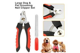 Pet Heavy Duty Nail Clipper Cutter Scissors Dog Cat Rabbit Toe Claw Paw Groomin