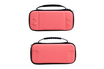 For Nintendo Switch Lite Case Hard Cover Protective Carry Travel Console Bag EVA-Pink