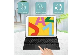 (Trackpad)Magnetic Bluetooth Keyboard Case iPad-10.2-7th-Blue