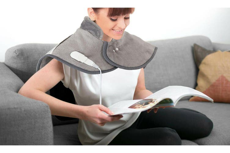 SOQ Electric Heating Wrap Pad Fast Heating Auto Shut Off for Neck Shoulder Back