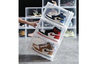 1 x Box Sneaker Display Cases Shoe Box Clear Magnetic Door 36x28x22cm