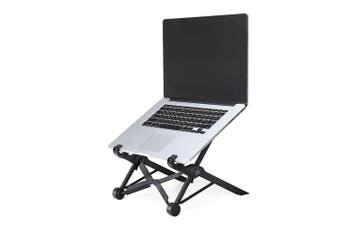 NEXSTAND K2 Laptop Stand Portable Adjustable Folding Notebook Table Desk Tray-Black Color