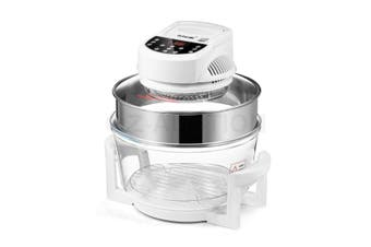 Maxkon 17L Halogen Oven Convection Turbo Cooker Electric Air Fryer Roaster w/LED