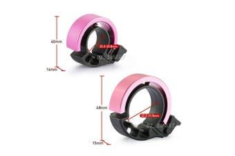 90db Invisible Bicycle Bell Aluminum Bike Handlebar Alarm Horn For 31.8mm-Rose