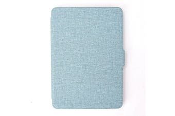Smart Wake Case Cover for Amazon Kindle Voyage-Blue