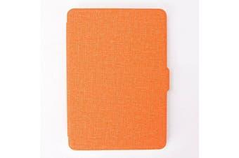 Smart Wake Case Cover for Amazon Kindle Voyage-Orange