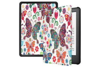 "For Amazon Kindle 2019 10th 6"" Inch Case Smart Magnetic Flip Leather Slim Cover-Butterfly"