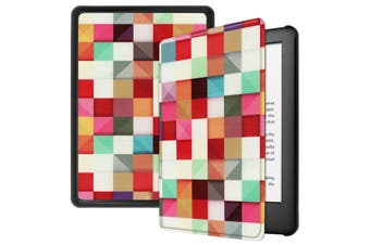 """For Amazon Kindle 2019 10th 6"""" Inch Case Smart Magnetic Flip Leather Slim Cover-Cube"""