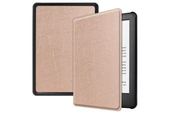"For Amazon Kindle 2019 10th 6"" Inch Case Smart Magnetic Flip Leather Slim Cover-RoseGold"