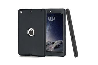 Heavy Duty ShockProof Case Cover For iPad 6th 9.7 Inch 2018-Black