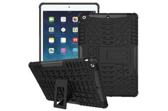 """Heavy Duty Shockproof Case Cover For Apple iPad 8th Gen 10.2"""" 2020-Black"""