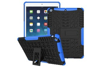 """Heavy Duty Shockproof Case Cover For Apple iPad 8th Gen 10.2"""" 2020-Blue"""
