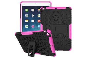 """Heavy Duty Shockproof Case Cover For Apple iPad 8th Gen 10.2"""" 2020-Pink"""