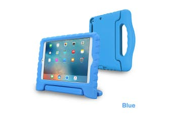 Kids Heavy Duty Shock Proof Case Cover for iPad 6th 9.7 Inch 2018-Blue