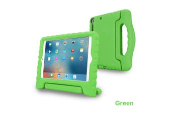 Kids Heavy Duty Shock Proof Case Cover for iPad Air-Green