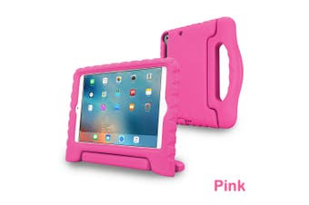 Kids Heavy Duty Shock Proof Case Cover for iPad Air-Pink