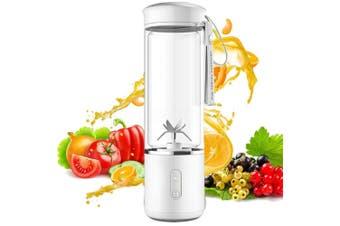 USB Electric Fruit Glass Juicer Cup Smoothie Maker Blender Juice Shaker Bottle