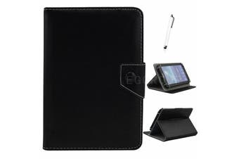 AU Univeral For Samsung Galaxy Tablet Leather Folio Stand Case Cover For Tab S2 9.7 SM-T810 T815-Black