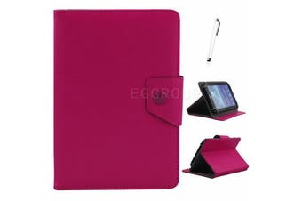 AU Univeral For Samsung Galaxy Tablet Leather Folio Stand Case Cover For Tab S2 9.7 SM-T813 T819C-Rose