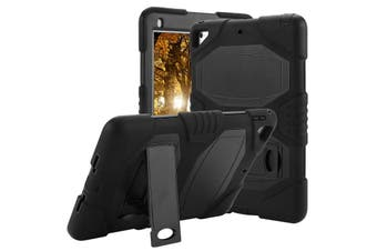 Kids ShockProof Case Heavy Duty Tough Kick Stand Cover For iPad Air-Type4-BlackBlack