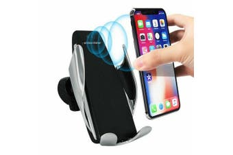 Automatic Clamping Wireless Car charger Mount Phone Holder for iPhone XR