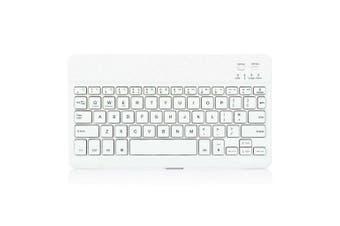 For iPad Wireless Bluetooth Keyboard-White
