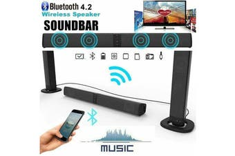 TV Home Theater Soundbar Bluetooth Sound Bar Speaker System Built-in Subwoofer