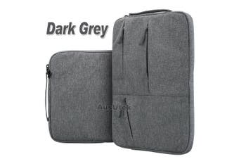"For MacBook Pro 15.4""New Macbook Pro A1990 With Touch Bar Laptop Sleeve Travel Bag Carry Case-Dark Grey"