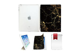 Marble Leather Smart Case Cover For iPad 2 3 4