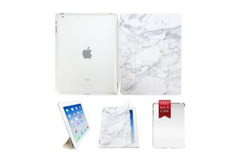 Marble Leather Smart Case Cover For iPad Air 2