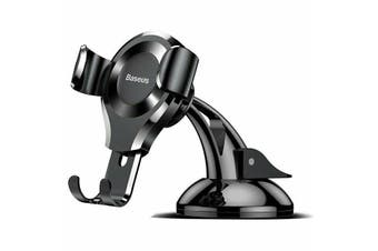 Genuine Baseus 360° Gravity Universal Car Mobile Phone Holder Stand Mount-Black