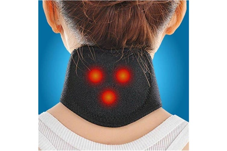 Tourmaline Magnetic Therapy Neck Brace Neck Support Belt Self Heating Neck Pain