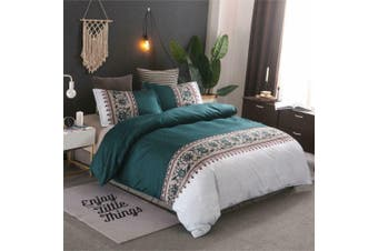 Bed Ultra Soft Quilt Duvet Doona Cover Set Bedding Pillowcase Bohemian-Queen