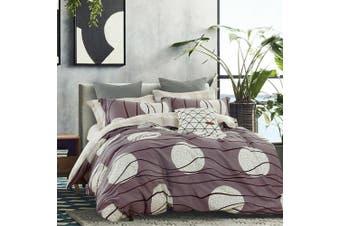 2020 New Double Size Bed Doona Quilt Duvet Cover Set 100% Cotton Premium Bedding-Jamie