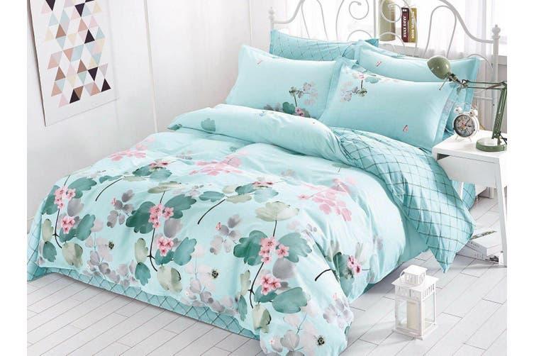 2020 New King Size Bed Doona Quilt Duvet Cover Set 100% Cotton Premium Bedding-Dream On