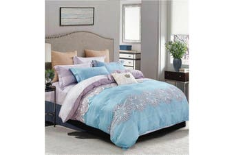 2020 New King Size Bed Doona Quilt Duvet Cover Set 100% Cotton Premium Bedding-Maple Leaves