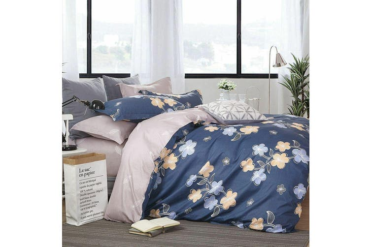 2020 New King Size Bed Doona Quilt Duvet Cover Set 100% Cotton Premium Bedding-Smile Mila