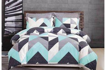 2020 New All Size Bed Doona Quilt Duvet Cover Set 100% Cotton Premium Bedding-Monica