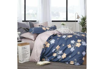 2020 New All Size Bed Doona Quilt Duvet Cover Set 100% Cotton Premium Bedding-Smile Mila
