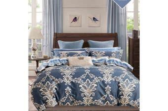 2020 New Single Size Bed Doona Quilt Duvet Cover Set 100% Cotton Premium Bedding-Su Tiya