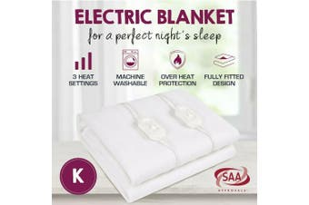 Fully Fitted Washable Non Woven Polyester Electric Blanket Heated Pad-King