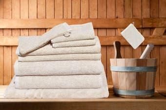 7 Pieces Bath Towels Set Egyptian Cotton 620GSM Spa Quality -Camel Ribbon