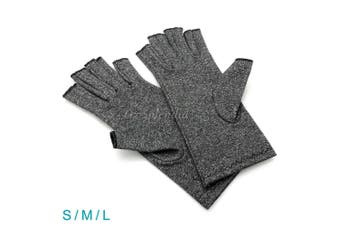 Arthritis Gloves Compression Support Hand Wrist Brace Relief Carpal Tunnel Pain-Size L