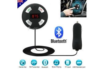 Wireless Bluetooth Car Kit FM Transmitter Handsfree Radio MP3 Player USB Charger