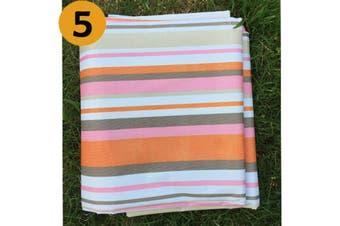 3X3m Extra Large Premium Waterproof Picnic Blanket Rug Mat Outdoor Camping Beach NO.5