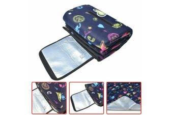 Large 3-Layers Soft Picnic Blanket Rug Waterproof Mat Camping Beach 2mX 2m-Dream sky
